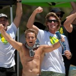 Duranbah boys celebrate