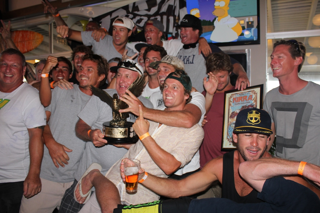 D'bah Celebrate their 2013 VKTC win