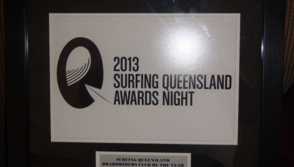 KSC - Surfing QLD Club of the year 2013